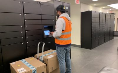 Research Proves Delivery to Smart Package Lockers Reduces Total Delivery Time by 78%