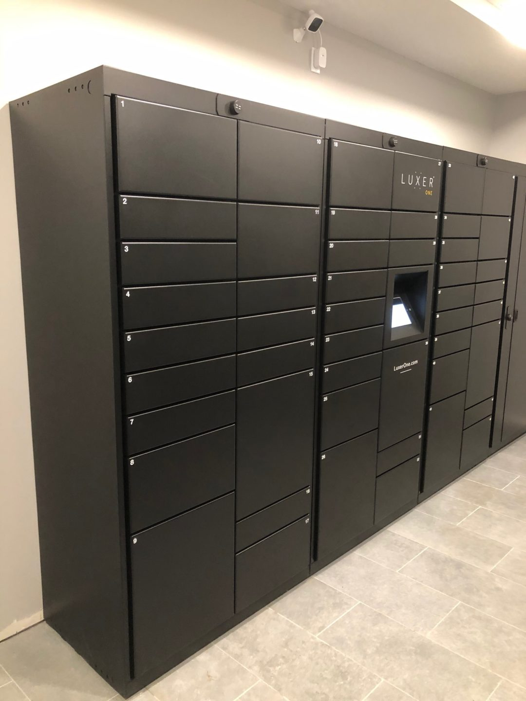 Lockourier smart lockers at Hintonburg Connection Ottawa Canada condo