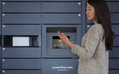 Luxer One Mobile App offers the best and the only contactless delivery and pickup system